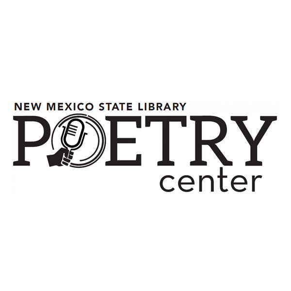 New Mexico State Library Poetry Center logo.