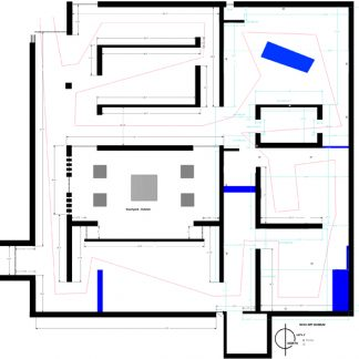 Building floorplan.