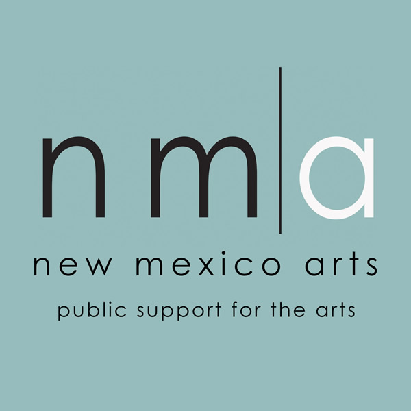 New Mexico Arts logo. Public support for the arts.
